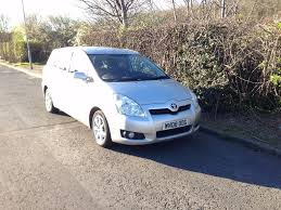toyota verso 2008 2 2 d 4d sr diesel lady owner manual 7 seater