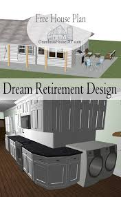 free house plan dream retirement design grandmas house diy