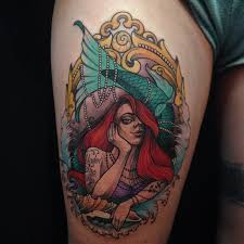 17 best mermaid tattoo images on pinterest princesses ariel and