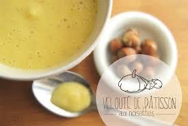 cuisiner le patisson blanc marmiton velouté de pâtisson parfumé aux noisettes façon crookies la recette