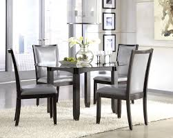 glass table and chairs for sale wonderful glass dining table with white leather chairs ideas grey