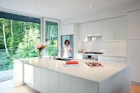 ideas for kitchen design kitchen design idea white modern and minimalist cabinets pertaining
