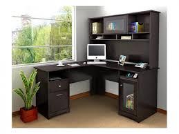 Small L Shaped Desks Desks Small L Shaped Desk Corner Computer Armoire Sauder Harbor