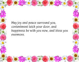 wedding quotes cousin may and peace surround you contentment latch your door and