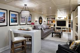 candice home decorator candice olson long narrow basement divided into 3 zones house