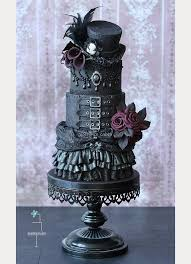 27 black iced wedding cakes for the bold bride mon cheri bridals