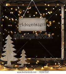 window lights adventszeit means advent stock photo 723927037