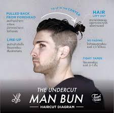 classic undercut hairstyle man bun undercut men u0027s undercut pinterest man bun undercut