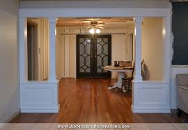dining room trim ideas other dining room columns magnificent on other regarding pony walls