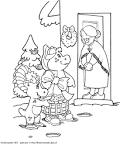 babcia kolorowanka