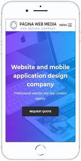 quote layout app empresa de diseño de páginas web profesionales a medida