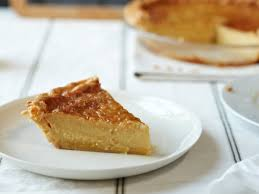 Chess Styles Chess Pie With Crème Fraîche And Vanilla Recipe Maggie Mariolis