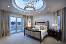 Chandelier In Master Bedroom 32 Exquisite Master Bedrooms With French Doors Pictures