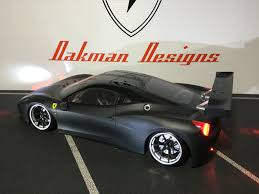 Ferrari 458 Drifting - ferrari 458 rc car oak man designs