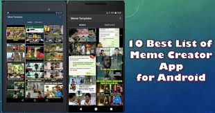 Meme Creator For Android - 10 best list of meme creator app for android 2018 app review pro