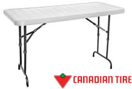 Folding Table Canadian Tire Canadian Tire 22 Blue Planet Folding Table