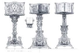 jeremy love art dawn treader concept art 6 magician u0027s mansion