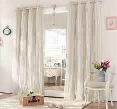 Double Panel Curtains Extraordinary Cream And White Curtains 90 For Ikea Panel Curtains