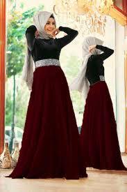 gamis modern baju gamis modern mix satin model dress remaja terbaru