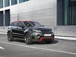 land rover evoque black land rover range rover evoque ember edition 2017 pictures