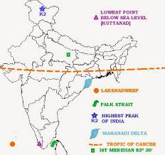 omtex classes geography map marking for ssc students