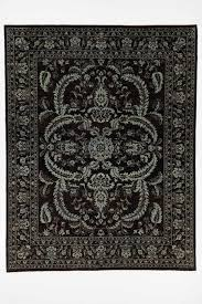 bedroom black and white area rug 8x10 fraufleur 8x10 moroccan