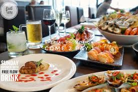 cuisine pro ส ดค มก บโปรโมช น buy 1 get 1 ฟร สำหร บบ ฟเฟ ต ซ นเดย บร นช พร อม