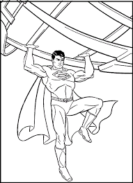 expenses weight lifting superman coloring pages for kids g9r