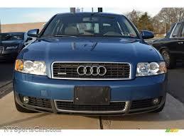 2003 Audi A4 Sedan 2003 Audi A4 1 8t Quattro Sedan In Denim Blue Pearl Effect Photo