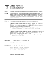 Sample Of Nursing Assistant Resume by 5 Certified Nursing Assistant Resume Resume Reference