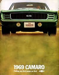 1969 camaro specs colors facts history and performance