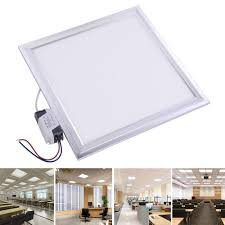 delight 12w led ceiling light fixture square panel cool