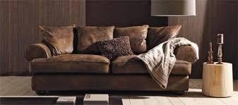 canapé en cuir marron canap cuir vieilli maisons du monde en ce qui concerne canapé cuir