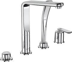veris 4 hole single lever bath shower combination 19373