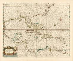 Vintage Maps Vintage Maps Of The Caribbean The Vintage Map Shop The Vintage