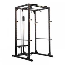 Weight Bench Package Bodymax Cf375 Elite Strength Package Squat Rack Pulley System
