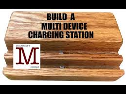 diy wood charging station building a multi device charging station 017 youtube