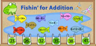 education world bulletin boards that teach fishin u0027 for addition