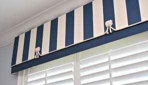 Nautical Valance Curtains Finishing Touches Style Bedroom Denver By Finishing