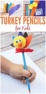 turkey pencils craft for