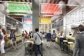 halls in los angeles downtown s food wars heat up with new boutique option along