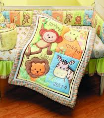 Nojo Jungle Crib Bedding by Total Fab Jungle Theme Baby Bedding
