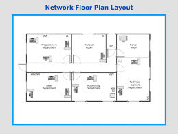 floor plan network design floor floor plans layout
