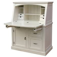 White Corner Desks by Rustic White Wooden Computer Desk With Storage And Drawers With