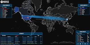 Ddos Map Cryptoworld News The Largest Ddos Attack Over 1tbps Mirai Tools