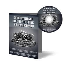 detroit diesel diagnostic link v8 u0026 v6 combo 12 month license