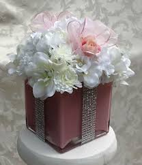 baby shower flower centerpieces buy a crafted silk floral centerpiece for baby shower bridal