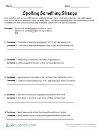 5th grade grammar worksheets u0026 free printables education com