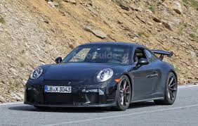 porsche 911 gt3 spied trying to hide its manual transmission