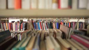 Bookcase Clips Library Books And Newspaper Stacks 3 Clips Stock Footage Video